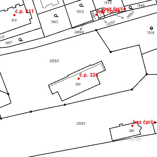 Katastrální mapa Stavební objekt Luhačovice 324, Luhačovice