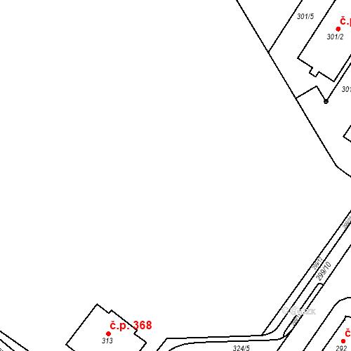 Katastrální mapa Stavební objekt Bučovice 946, Bučovice