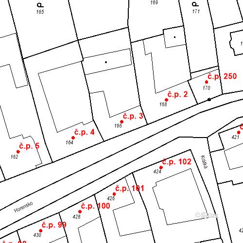 Katastrální mapa Stavební objekt Velké Opatovice 3, Velké Opatovice