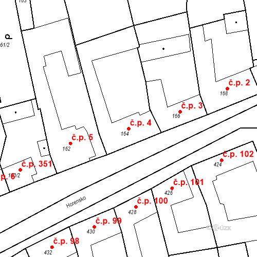Katastrální mapa Stavební objekt Velké Opatovice 4, Velké Opatovice