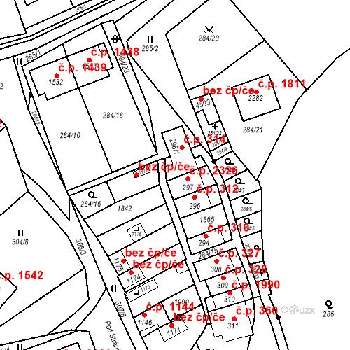 Katastrální mapa Stavební objekt Blansko 955, Blansko