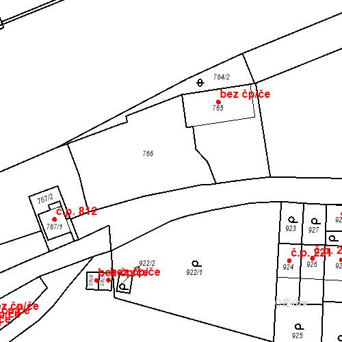 Katastrální mapa Stavební objekt Štýřice 212, Brno