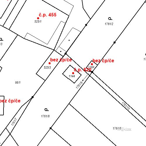 Katastrální mapa Stavební objekt Rtyně v Podkrkonoší 820, Rtyně v Podkrkonoší