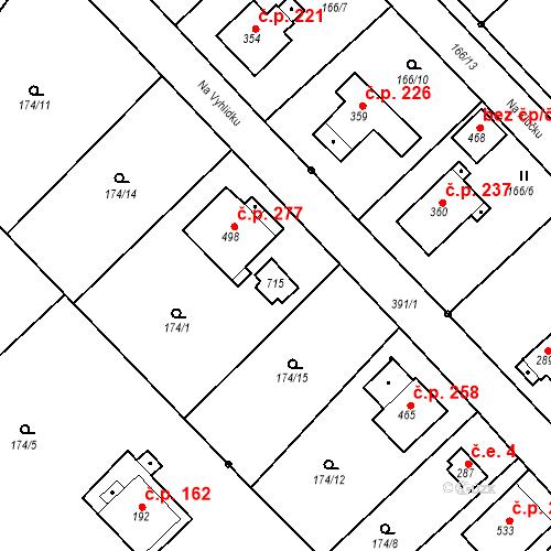 Katastrální mapa Stavební objekt Malé Svatoňovice 1, Malé Svatoňovice