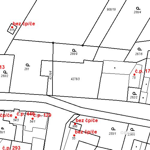 Katastrální mapa Stavební objekt Černilov 604