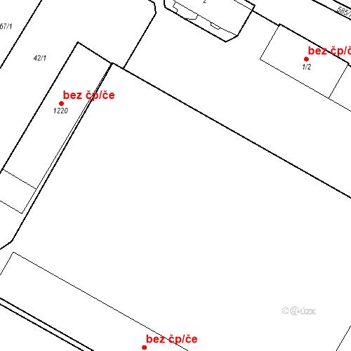 Katastrální mapa Stavební objekt Bašť 20, Bašť