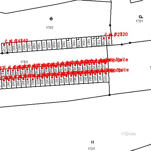 Katastrální mapa Stavební objekt Benešov nad Ploučnicí 761, Benešov nad Ploučnicí