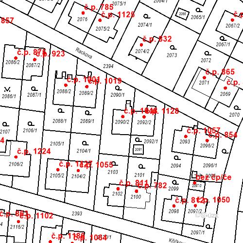 Katastrální mapa Stavební objekt Suchdol 1048, Praha
