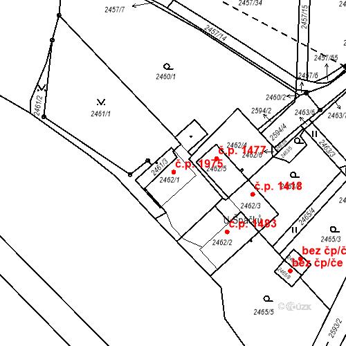 Katastrální mapa Stavební objekt České Budějovice 6 997, České Budějovice