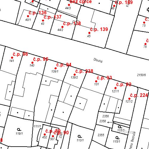 Katastrální mapa Stavební objekt Kašperské Hory 238, Kašperské Hory